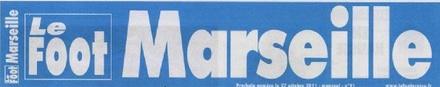 Logo du magazine Le foot Marseille